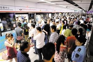 深圳城市地铁客流量统计