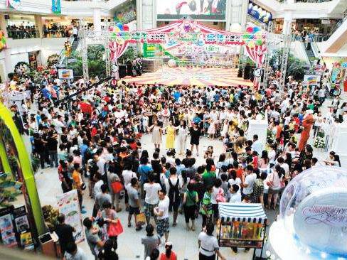 商场防止客流拥挤踩踏事件,计数器必备!