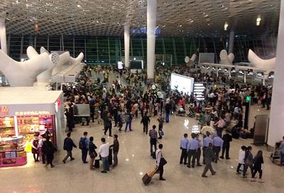 宝安机场客流统计系统,客流分析数据设备